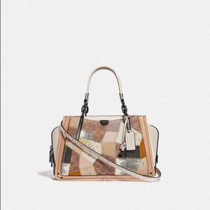 COACH DREAMER WITH SIGNATURE PATCHWORK 72672